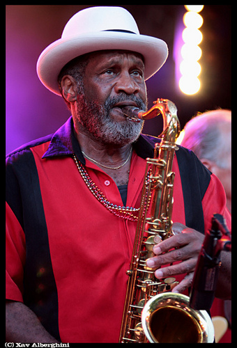 Carl Green at the Cognac Blues Passions, Cognac, France ©Xav Alberghini