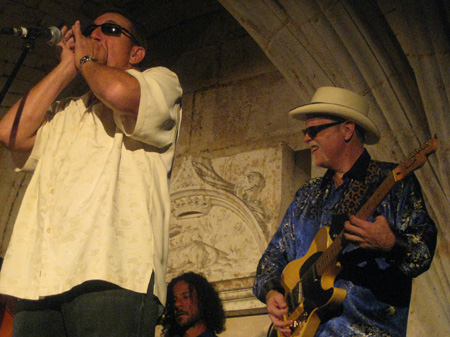 w/Randy Cortkoff at Otard Castle, Cognac, France ©Kelly Davis